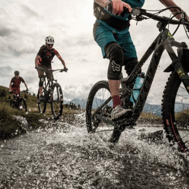 Mountain bike adventure in Upper Valais